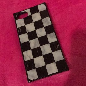 Cute Vans Checkered Phone Case Fits IPhone 6 & 7